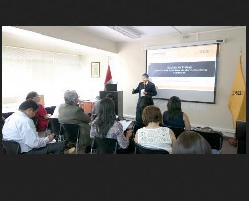 Perú prepara la Directiva de Acreditación de Instituciones Arbitrales
