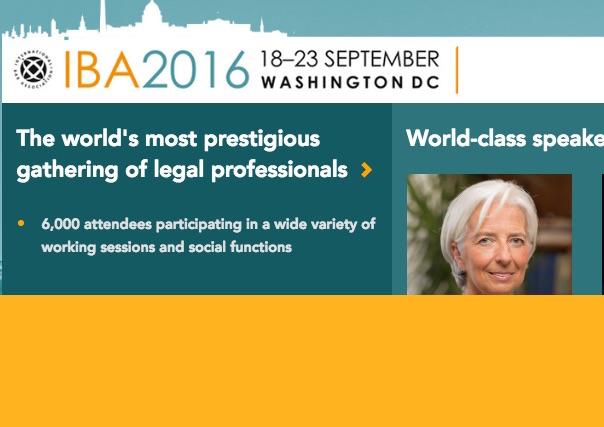 La agenda del arbitraje de la Conferencia IBA 2016
