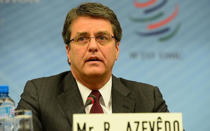 El brasileño Roberto Azevêdo reelegido director general de la OMC