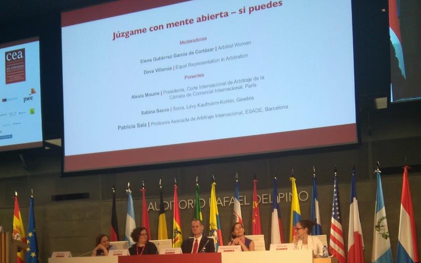 El CEA Mujeres se estrena con un desayuno sobre los sesgos en el arbitraje