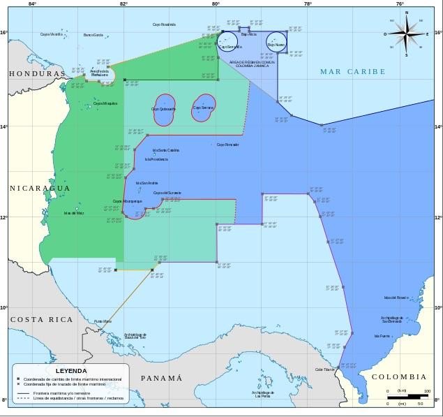 Conflicto marítimo Nicaragua-Colombia: contramemoria colombiana ante la CIJ