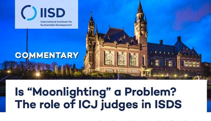 Jueces de la CIJ, también árbitros, aunque lo prohíben sus Estatutos