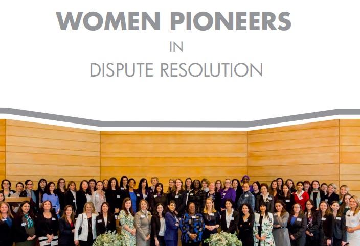 """Segunda edición del libro """"Mujeres pioneras en resolución de conflictos"""""""