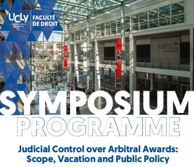 Simposio Internacional sobre Control Judicial de Laudos, Lyon, 26 y 27 de abril