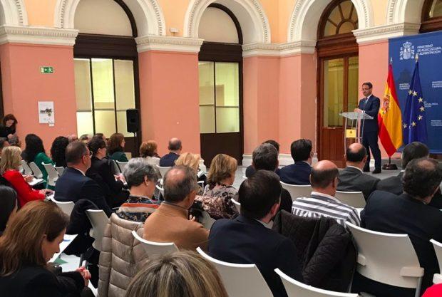 Se presentan cortes de arbitraje para el sector agroalimentario en España