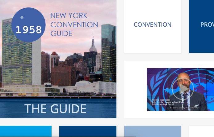 Documentos útiles: Guía sobre la Convención de Nueva York