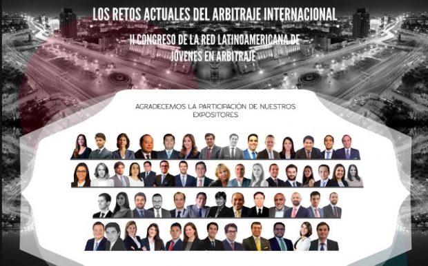 II Congreso de la Red Latinoamericana de Jóvenes en Arbitraje