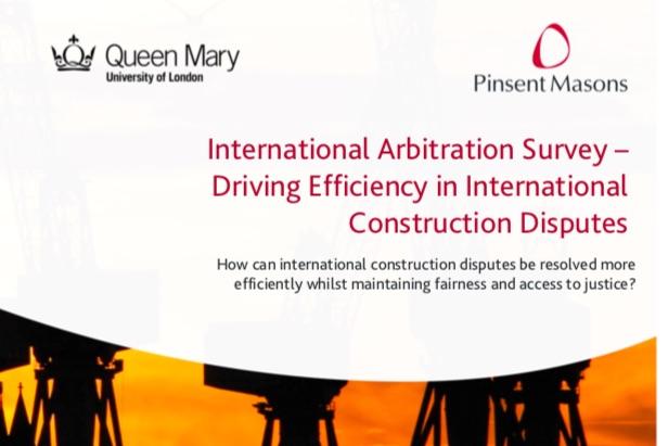 Arbitraje en Construcción (QMUL): Instituciones, sedes preferidas, mercado para el TPF, futuro…