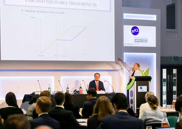 Conferencia del Investment Treaty Forum en Londres