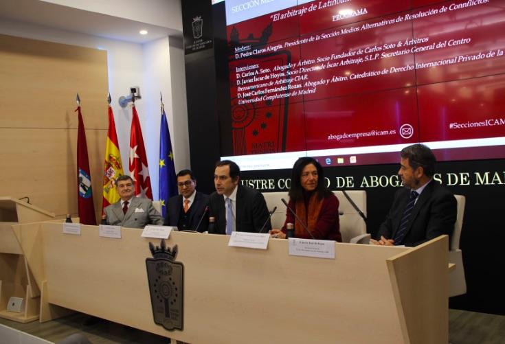 """Perú y CIAR protagonizan la jornada """"Mitos y realidades del arbitraje en América Latina"""""""