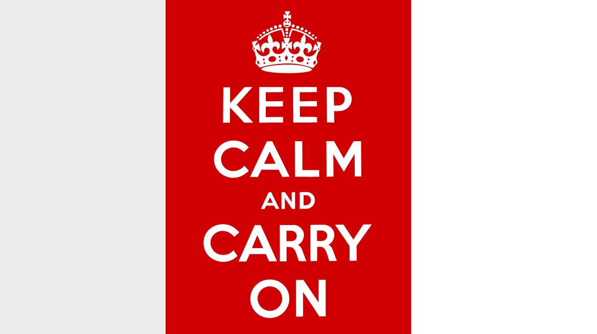 """Respuestas legales al COVID-19: """"Keep Calm and Carry On"""""""