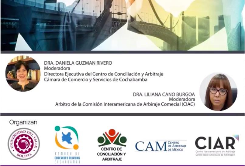 La virtualidad en el proceso arbitral, 21 de mayo, 16:00h (Bolivia)