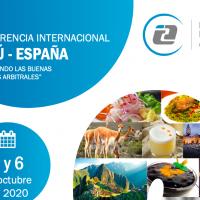 """II Conferencia Internacional Perú España """"Difundiendo las buenas prácticas arbitrales"""""""