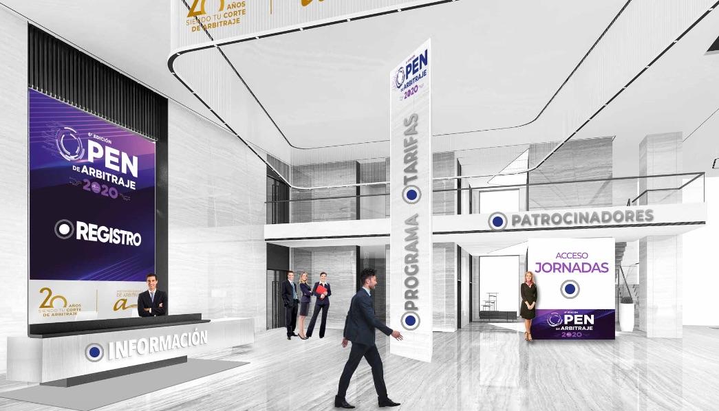 Audiencia virtual, la sede, peritos o financiación, protagonistas del 6º Open de Arbitraje