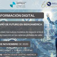 Foro virtual: La transformación digital, un nuevo escenario de futuro para Iberoamérica