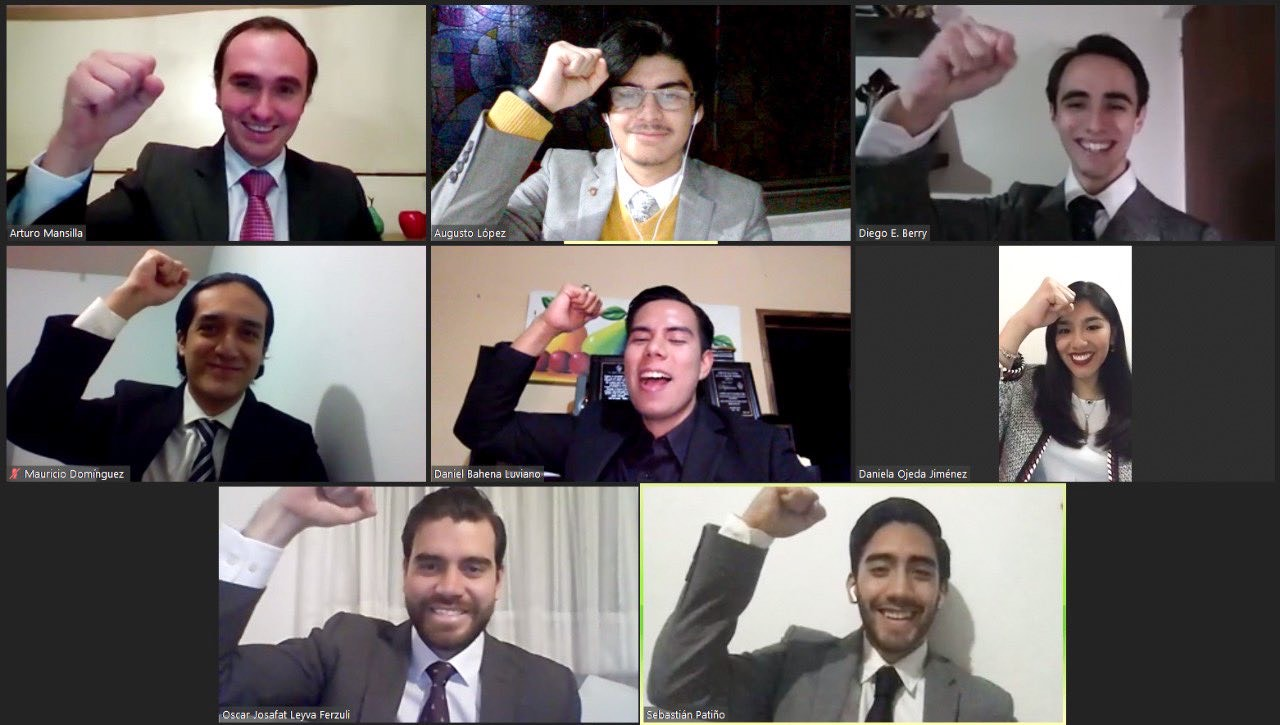 Equipo mexicano logra bicampeonato en certamen internacional de arbitraje