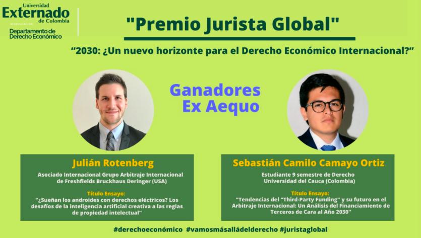Inteligencia Artificial y TPF vencedores en el I Premio Jurista Global