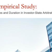 Estudio analiza costes, daños y duración de los arbitrajes de inversiones